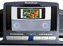 nordictrack apex 8500 with flat screen tv