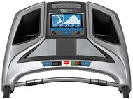 Horizon Fitness Eite T7 Console