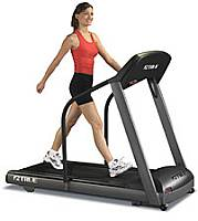 Treadmill walking exercise