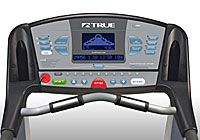 true treadmill console