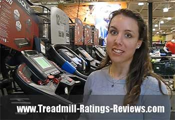 Team member Rachael discusses Sole Fitness treadmills.