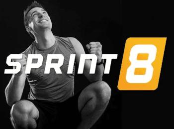 Sprint 8 programming on Vision Fitness treadmills.