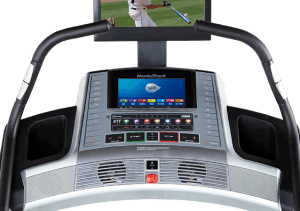 NordicTrack X15i Incline Trainer console
