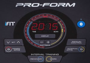 Proform Performance 400i console