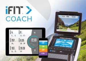 ProForm treadmills have iFit Coach Ready technology.