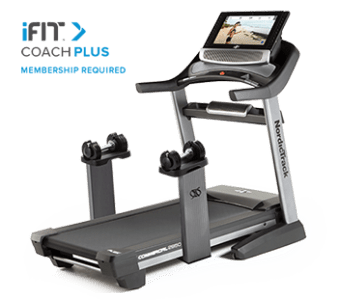 iFit Coach Plus on the NordicTrack Commercial 2950