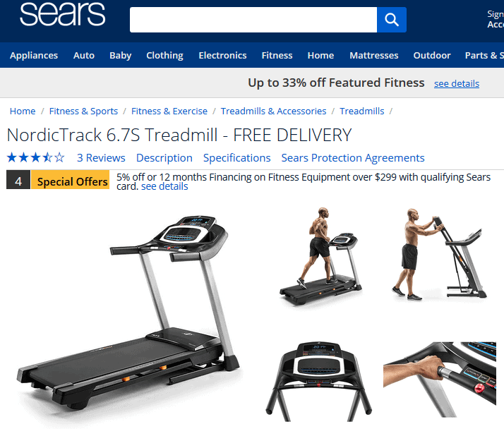 Nordictrack Treadmills From Sears Is There A Quality