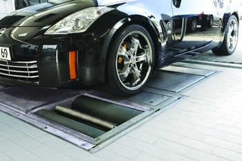automobile treadmill